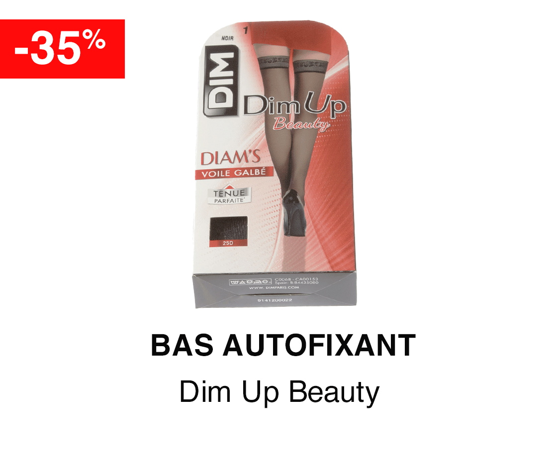 Bas autofixant DIM UP BEAUTY -35%