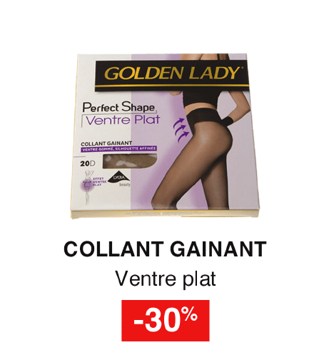 Collant gainant GOLDEN LADY -30%